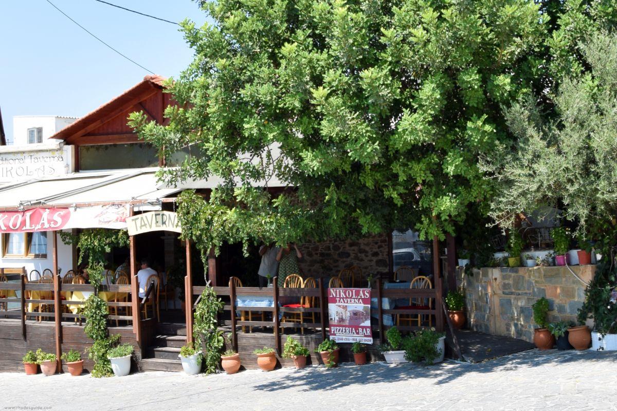 Asklipio (Asklepieion) © Rhodes Guide / RhodesGuide.com