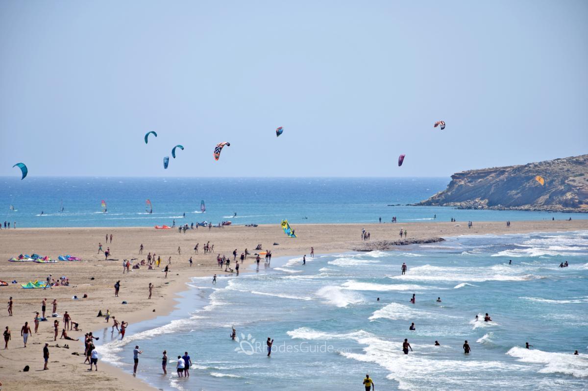 Prasonisi Beach © Rhodes Guide / RhodesGuide.com
