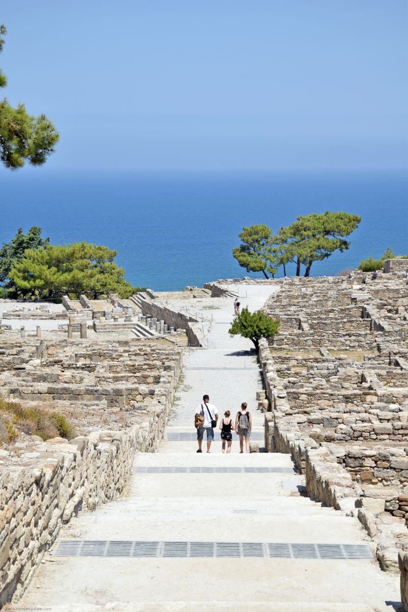 Ancient Kamiros © Rhodes Guide / RhodesGuide.com