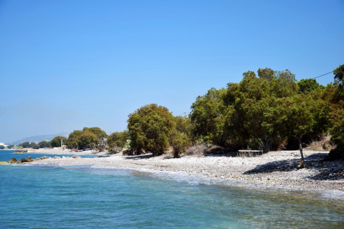 Soroni Beach © Rhodes Guide / RhodesGuide.com