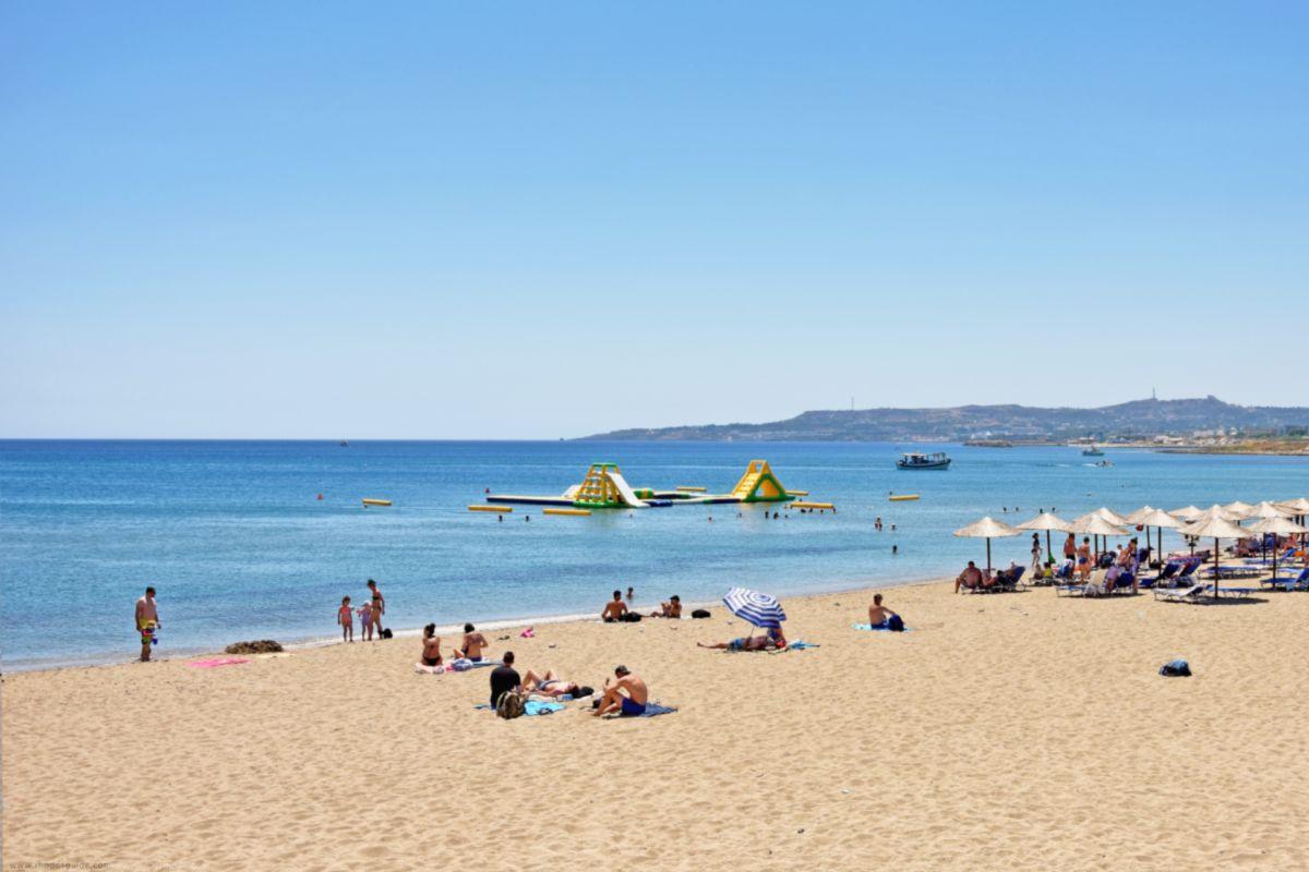 Zephyros Beach (also: Zefyros or Zefiros) © Rhodes Guide / RhodesGuide.com