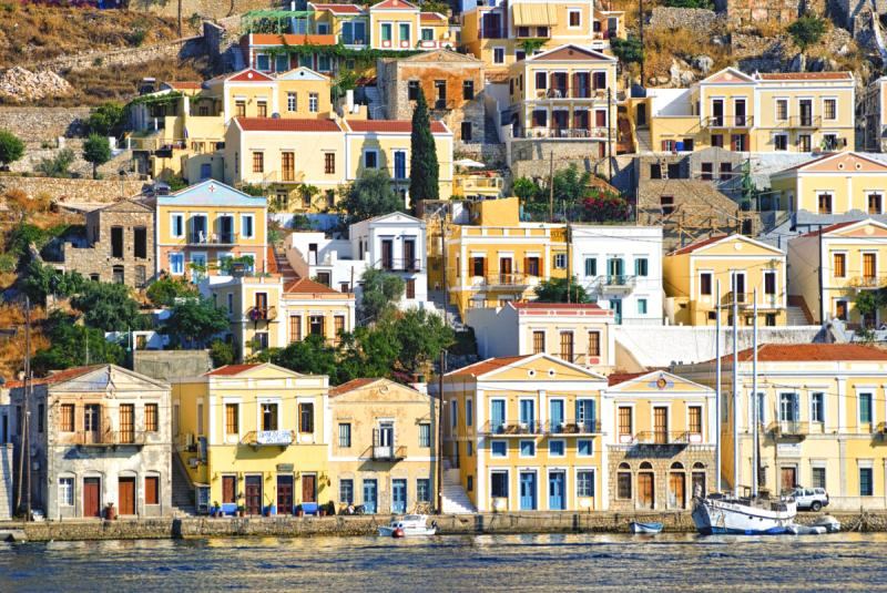 Dodecanese islands. Rhodes and Symi are fit for the Gods
